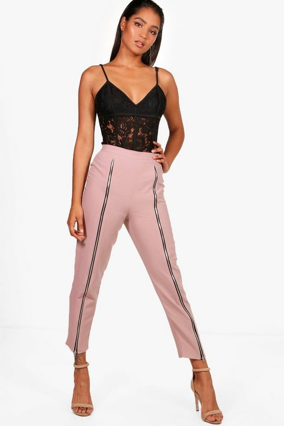 Womens Woven Zip Front Extreme Trouser