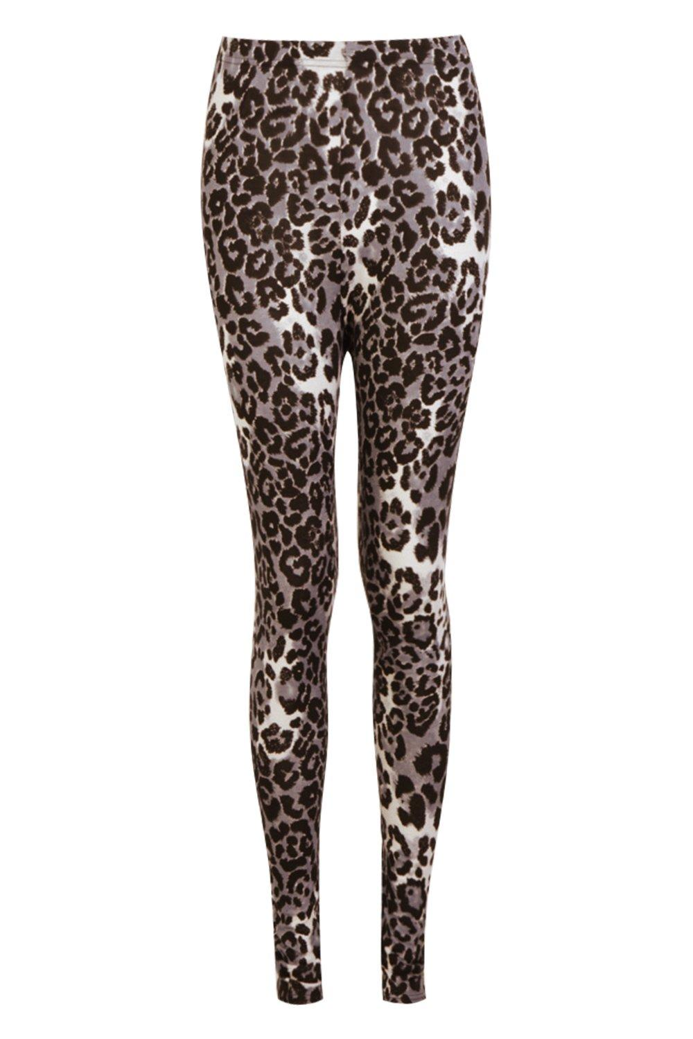 Leopard Leopard Leggings Leggings Print grey Print Leopard Leggings grey Print A8qEwTY8
