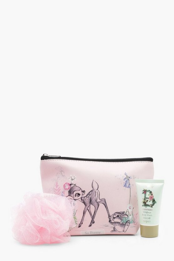 Disney Makeup Bag And Bath Set