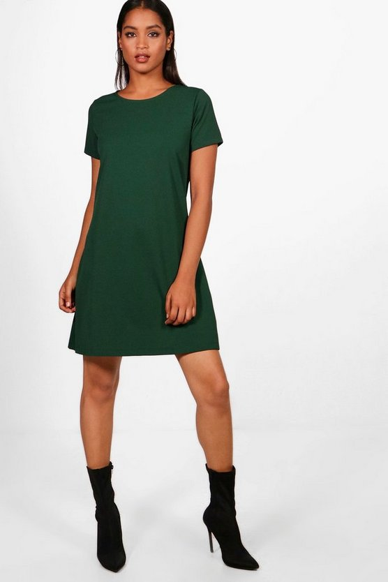 Eva Short Sleeve Shift Dress