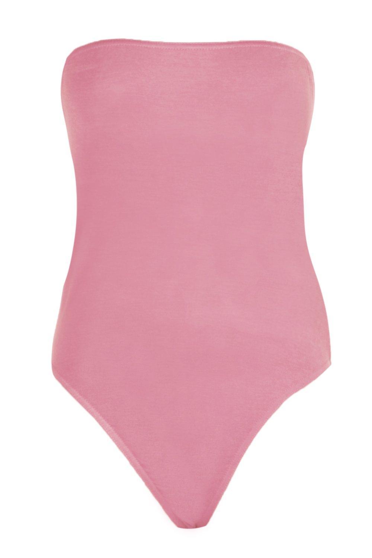 Bodysuit Basic Bandeau Bandeau desert rose Bodysuit Basic rwvqa8xgvn