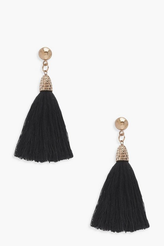 Charlotte Cased Tassel Earrings