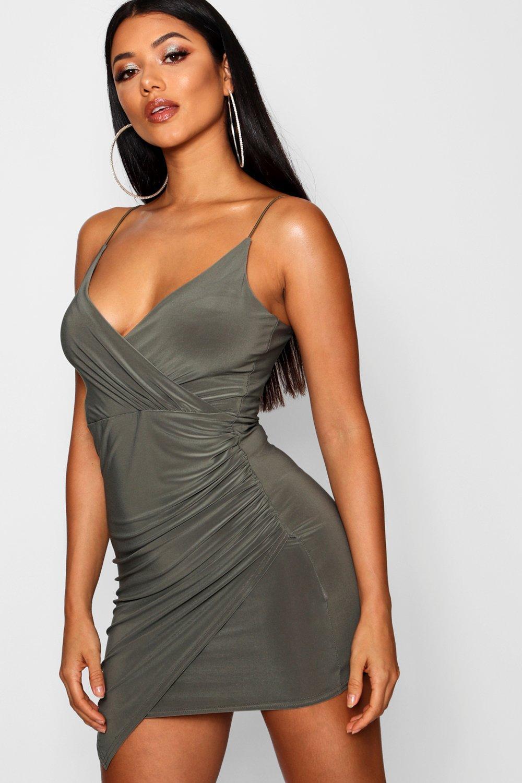 Dress Detail Bodycon Detail Bodycon Wrap Wrap Bodycon Wrap Detail Dress dFxqF0wAS