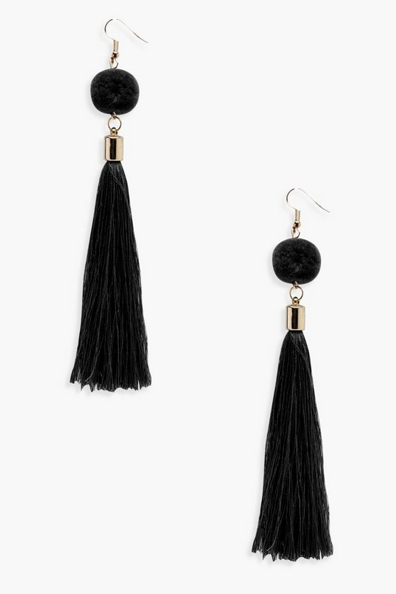 Moira Pom & Tassel Earrings