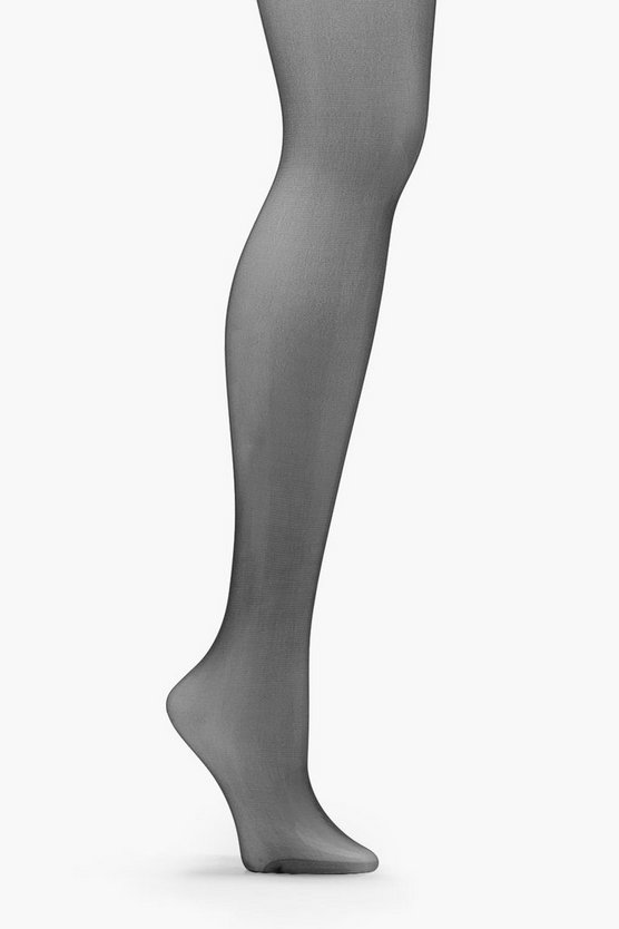 Black Laura 15 Denier Shaper Tights