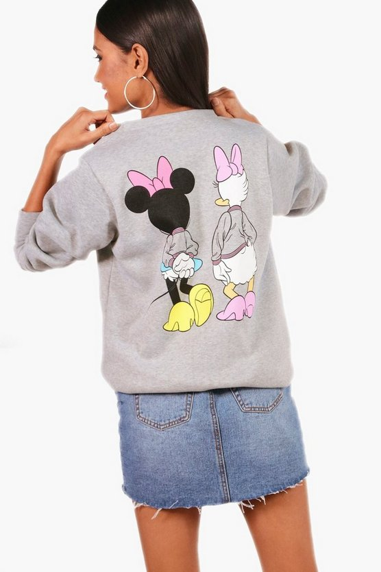 Disney Minnie And Daisy Sweatshirt