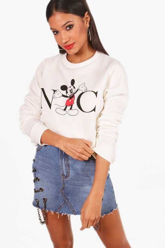 Disney Mickey NYC Sweatshirt