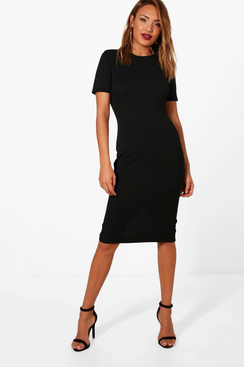08d2df4350e8 Tailored Midi Dress | Boohoo