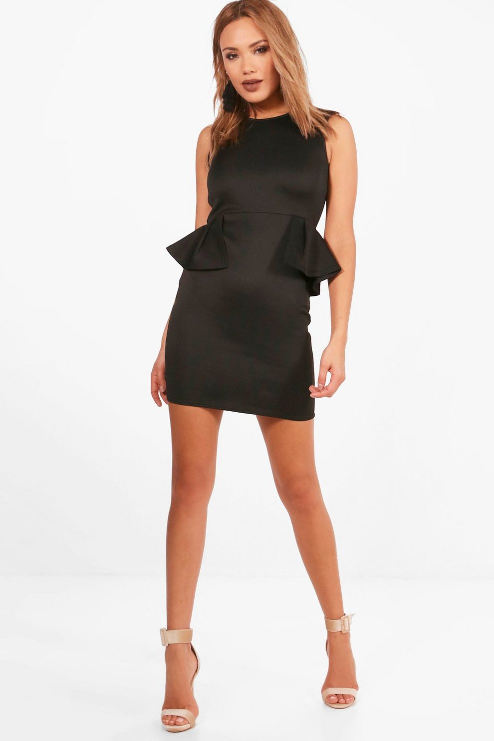 2e1d234c4eb boohoo black peplum dress – Little Black Dress