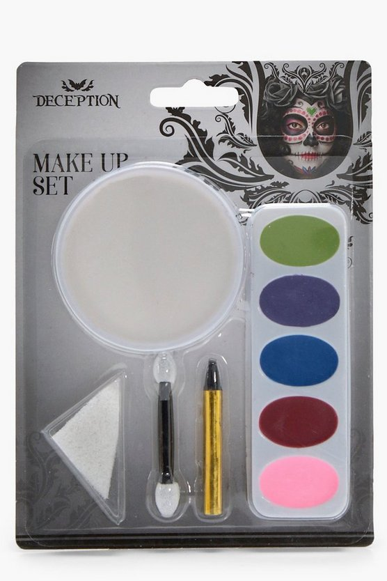 Day Of The Dead Halloween Make Up Set