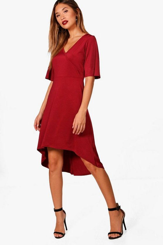 Wrap Over Dress
