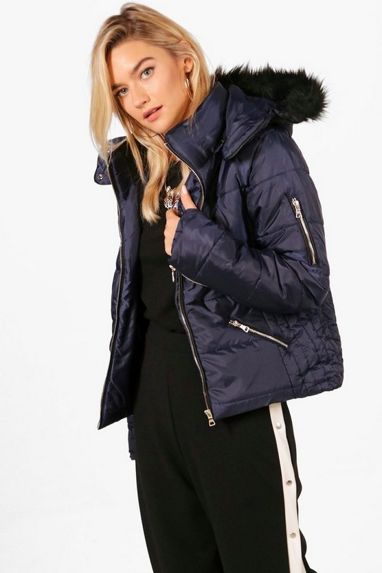 Darcy Hooded Padded Jacket