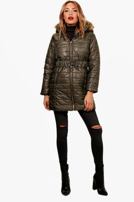 Lucy Longline Quilted Coat