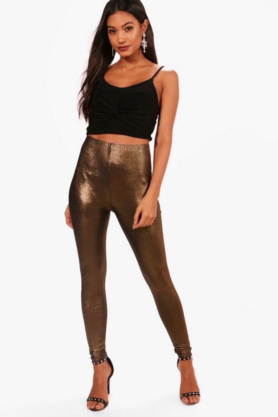 Metallic High Shine Leggings