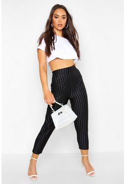 Dam Black Pinstripe Relaxed Trouser