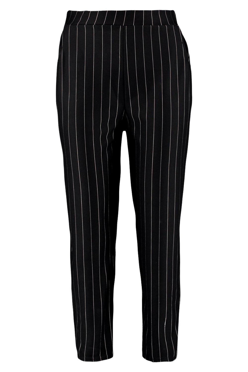 Pinstripe black Pinstripe Pinstripe Trouser Trouser Relaxed Relaxed black StZw5PWT