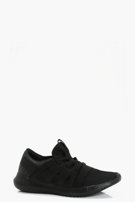 Lace Up Sports Trainers