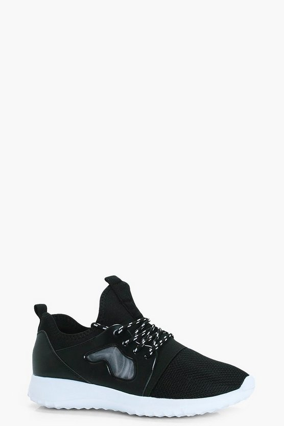 Brooke Lace Up Mesh Trainer