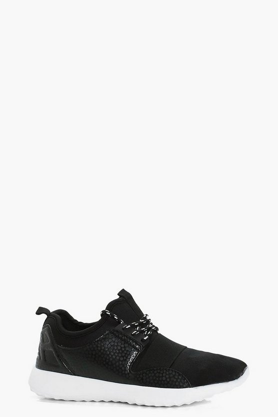 Eva Lace Up Sports Trainer