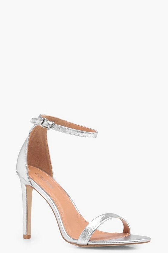 Mara Metallic 2 Part Heels