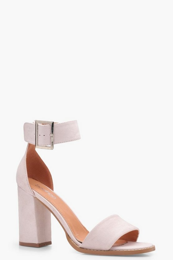 Ellie Block Heel 2 Part Heels