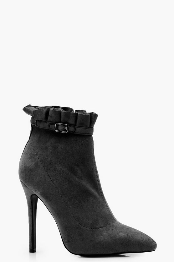 Frill Detail Shoe Boots