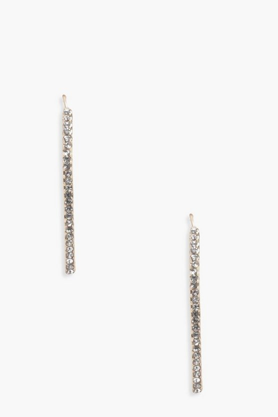 Harriet Diamante Bar Earrings