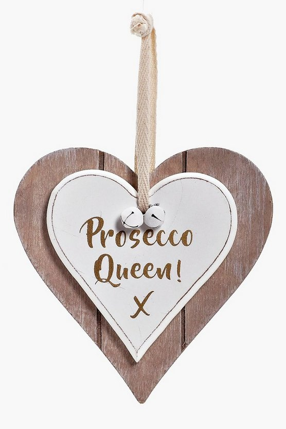 Prosecco Queen Plaque