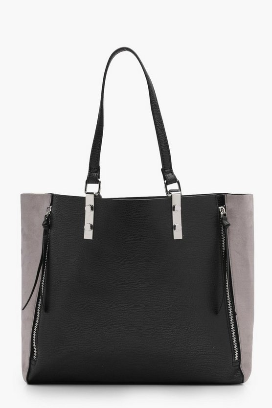Lily Suedette Winged Tote