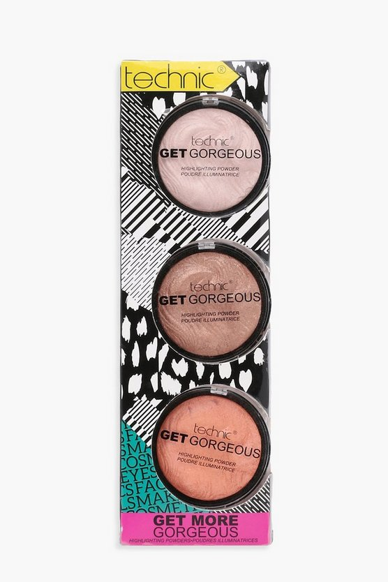 Technic Get More Gorgeous Highlighter Set