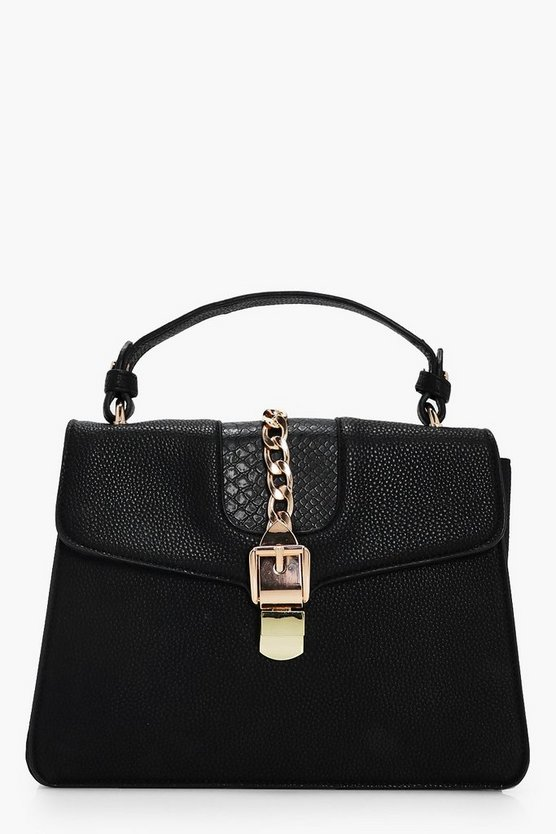 Olivia Chain Detail Cross Body Bag