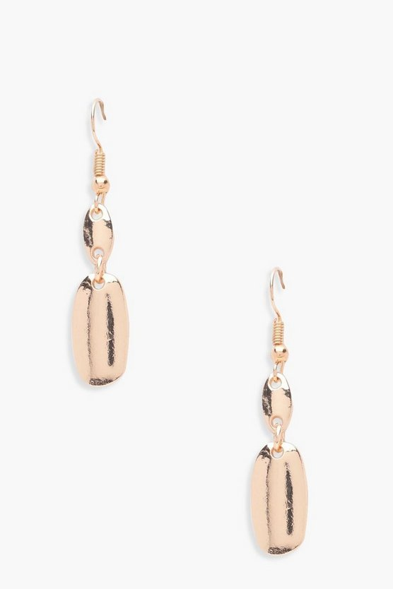 Lacey Abstract Plate Earrings