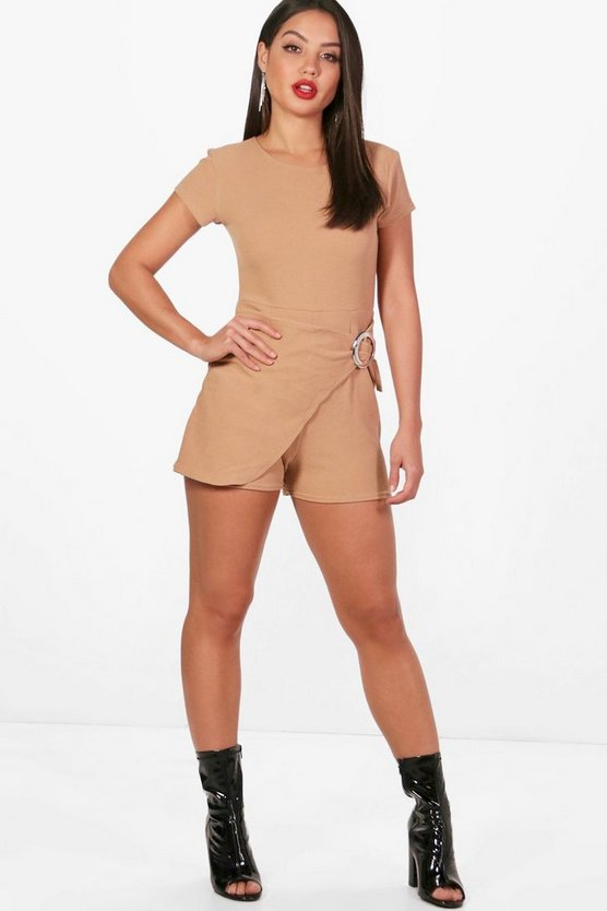 Wrap Over Skort O Ring Playsuit
