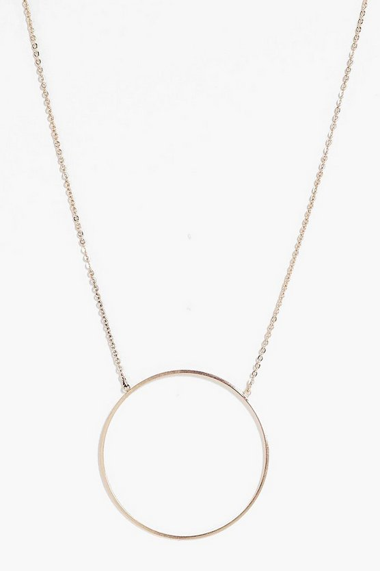 Libby Circle Detail Necklace