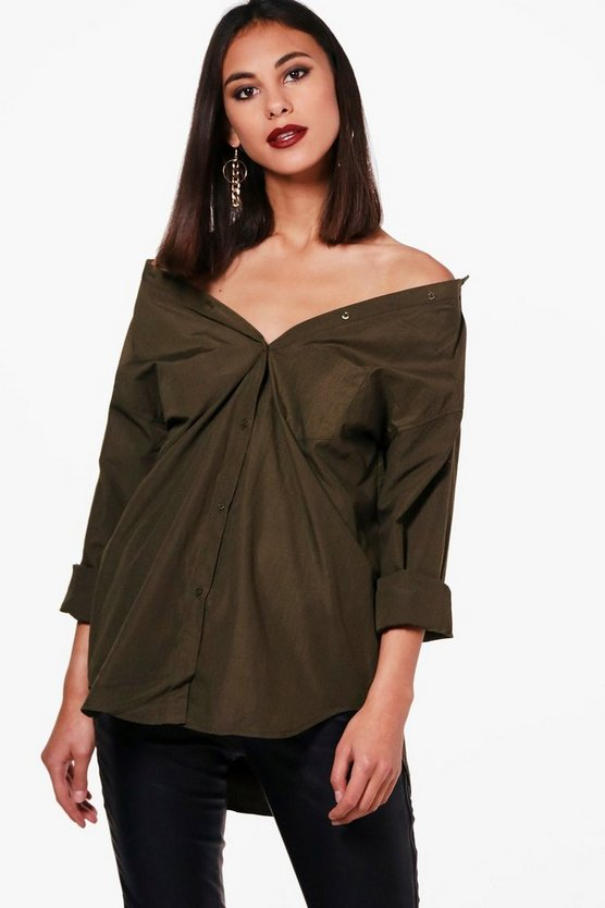Off The Shoulder Shirt
