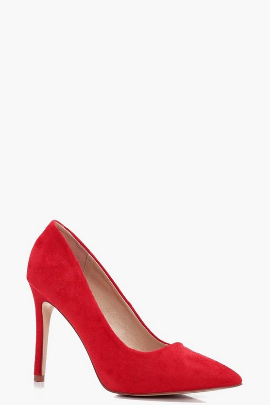 Katie Wide Fit Pointed Courts