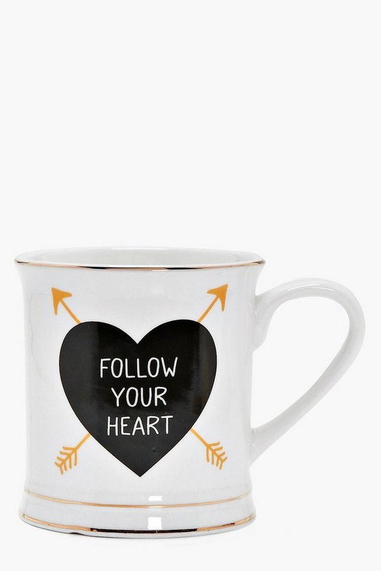 Grace Follow Your Heart Mug