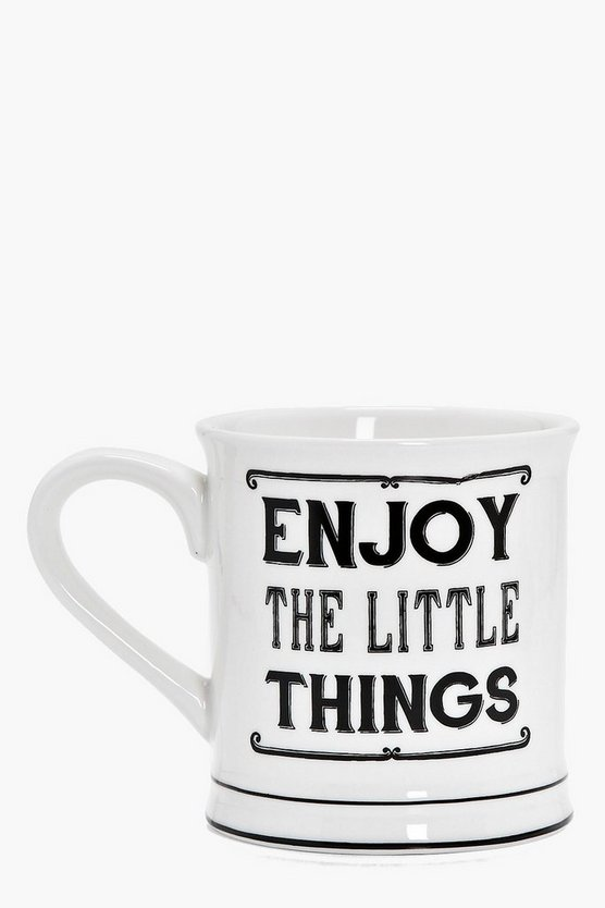 Faye Enjoy The Little Things Mug