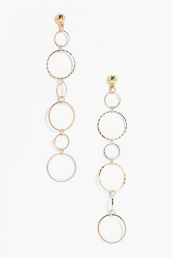 Georgina Multi Layered Hoop Earrings