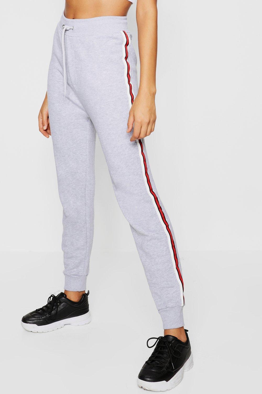 black Sports Stripe Joggers Sports Stripe Loopback TRxXXv
