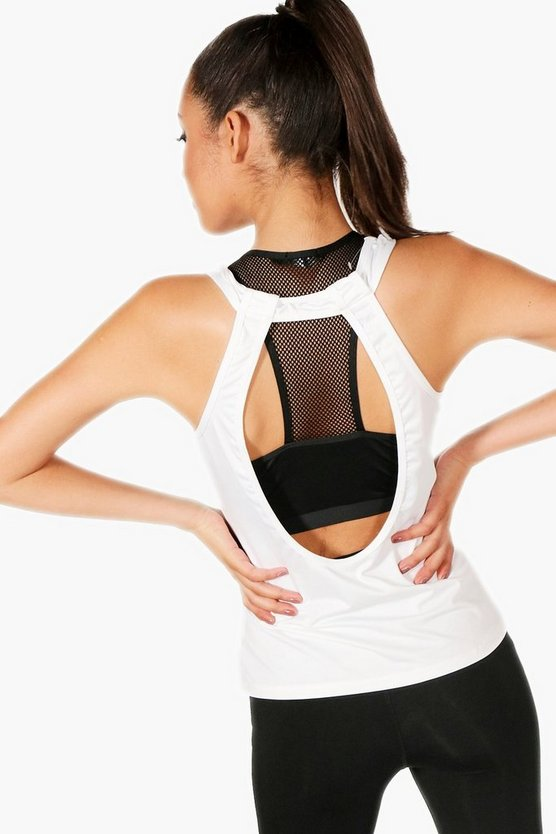 Fit Racer Back Two In One Sports Bra Vest