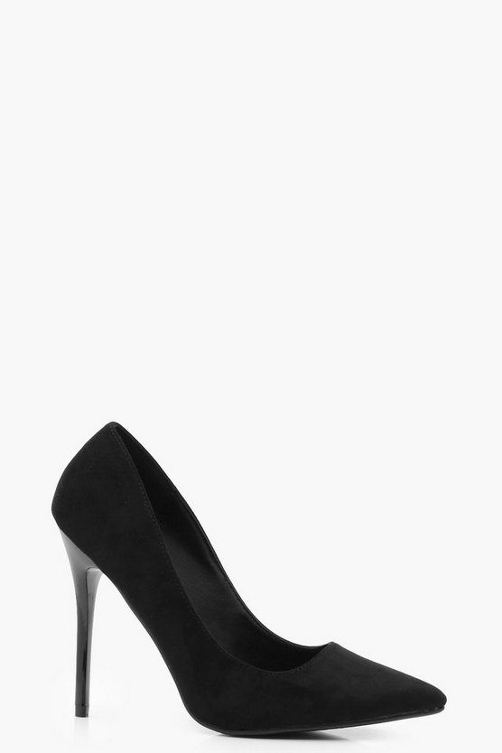 Ruby Pointed Stiletto Courts