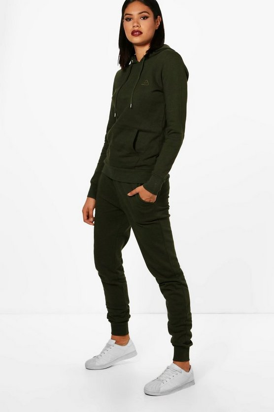 Athleisure Hooded Tracksuit