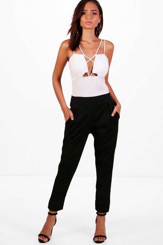 Plunge Strappy Jumpsuit