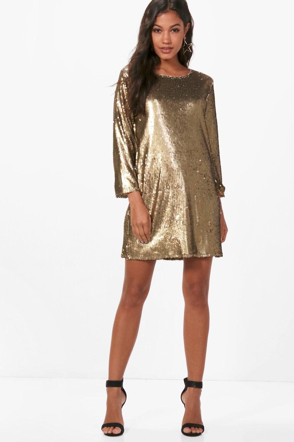 20 New Years Eve Sequin Dresses Under $50 - Society19
