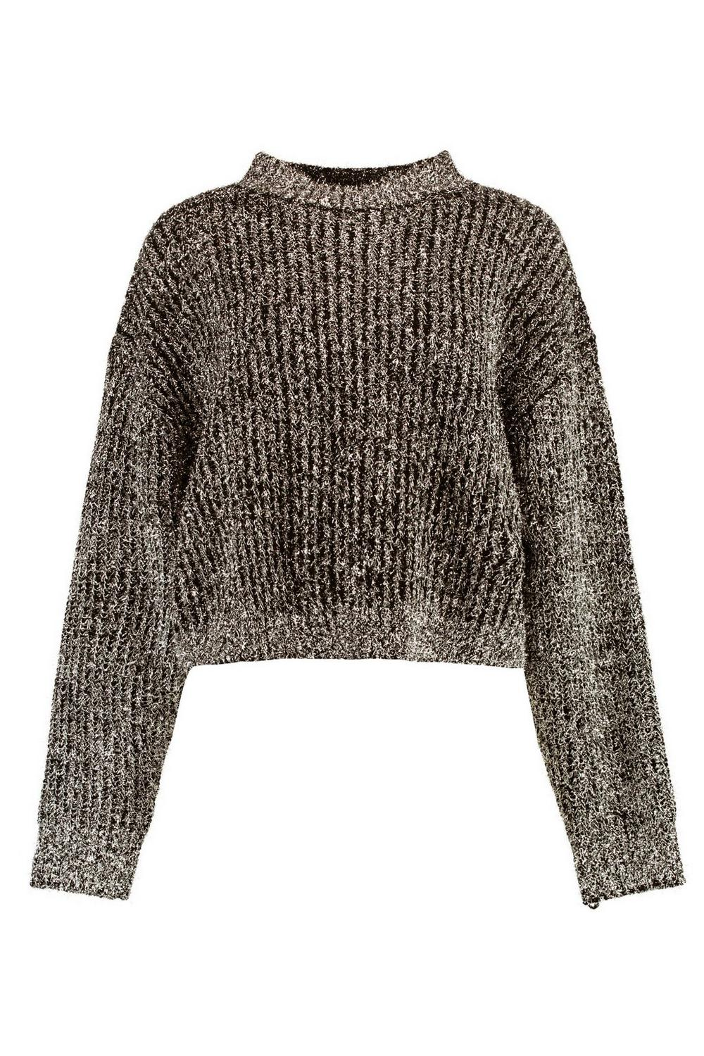 Tinsel Jumper Tinsel Metallic Metallic gold Knit rqfgrCw