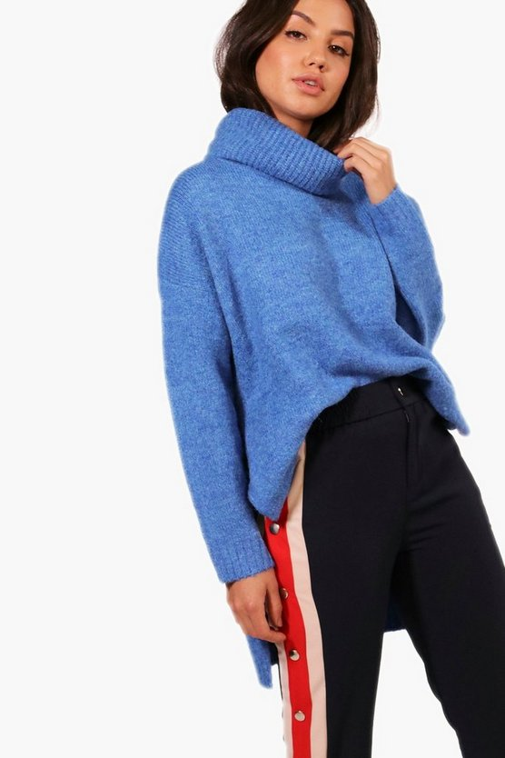 Premium Roll Neck Oversized Jumper
