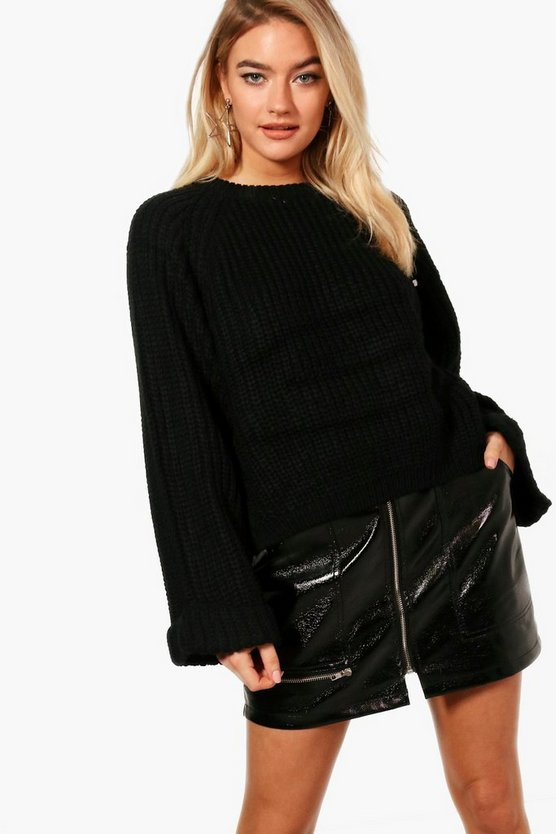 Crop Oversized Jumper