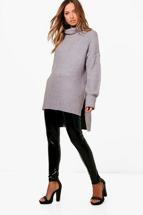 Womens Premium Rib Knit Jumper