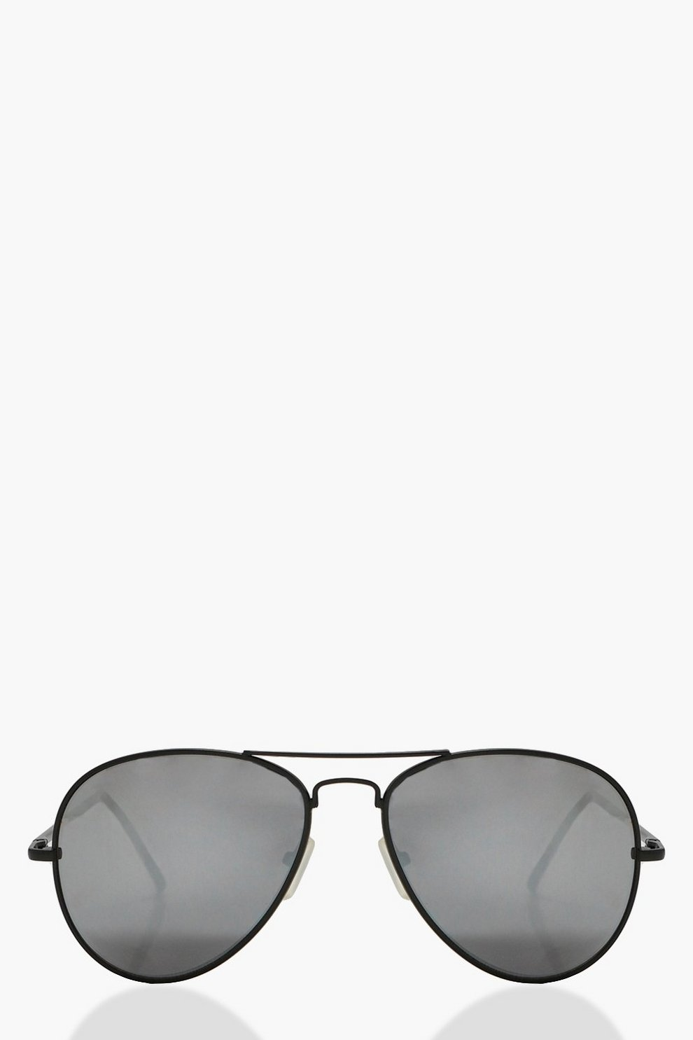 e27268ad012fa2 kirsten lunettes de soleil aviateur à monture angulaire   Boohoo